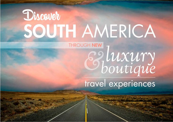 Discover #SouthAmerica through new #luxury & boutique #travel experiences. Visit our new website and find authentic and off the beaten track experiences that include meals, #dances, #music, #legends, #crafts, and more, to approach the local #culture and #traditions in each #destination; #outdoor and #adventure #expeditions to #enjoy #amazing and unique #scenaries and #nature in an active way; #culinary #tours, #gourmet and #wine experiences that will introduce new #flavours, typical dishes…