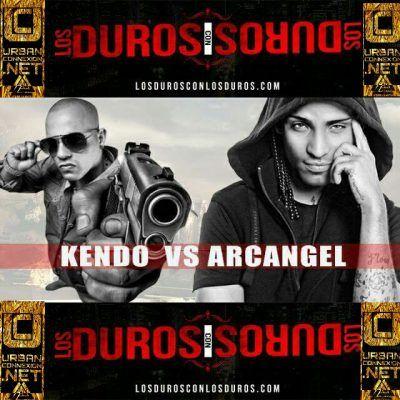 Kendo Kaponi finalmente se encuentra cara a cara con Arcangel en el estudio de DJ Nelson (Flow Mu...