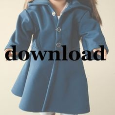 FREE DIY Pattern and Tutorial on how to make your own doll coat! This adorable long coat is perfect for keeping dolly ready for winter. Adorable and simple to put together this soft shell coat is perfect to top of dolly's outfit! Great Sewing Project.