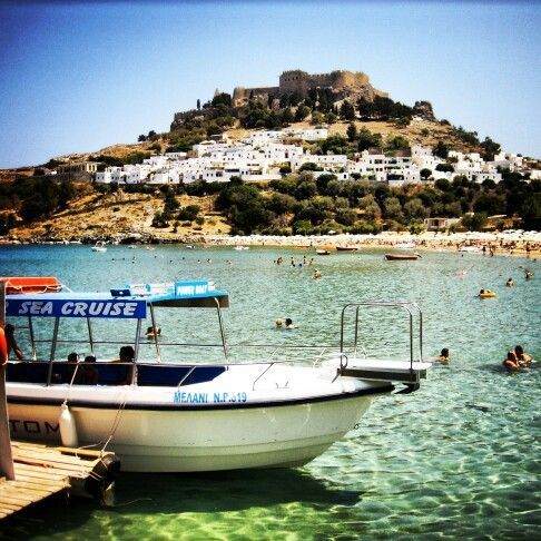 Lindos, Greece. I still dream of this place.
