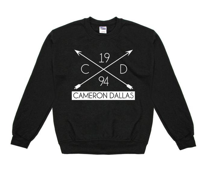 Cameron Dallas Cameron Dallas Arrow '94 Crew Neck Sweatshirt - BLV Brands I WANT