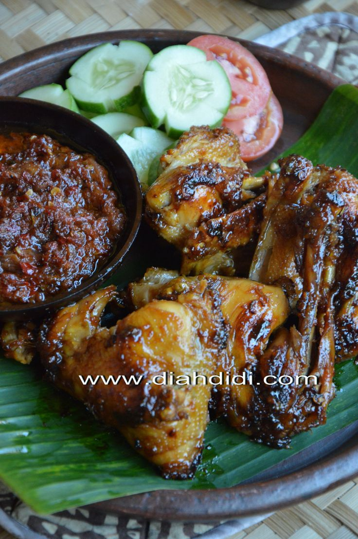 Resep Ayam Bakar Kecap Spesial Lezat