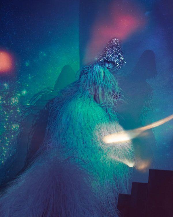 WELTRAUMOBER // VICE magazine by Elizaveta Porodina, via Behance