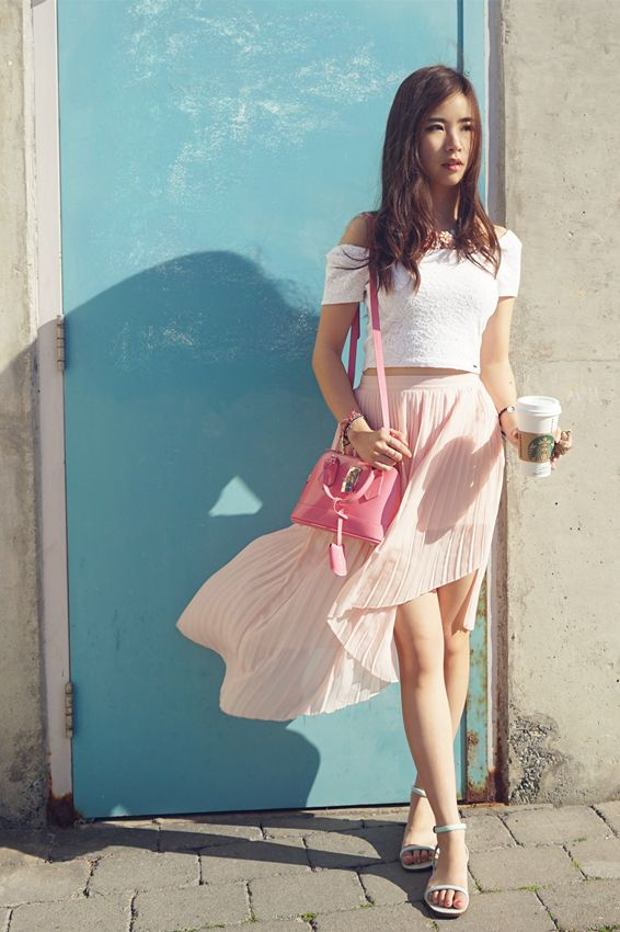 #CropTop + #MidiSkirt = My favourite combo! check out here to get direct links and brands: http://shellure.com/?p=13348