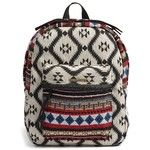 Women's Volcom 'Schoolyard' Print Canvas Backpack