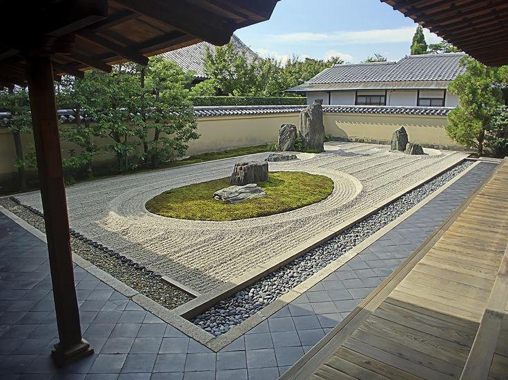 ryogen in zen rock garden kyoto japan photograph ryogen in zen rock