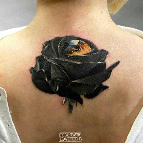 13 best black roses images on pinterest tattoo roses baby black rose tattoo urmus Choice Image