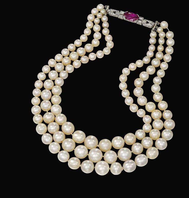 Natural Saltwater Pearl Necklace: 746 Best Images About Pearls On Pinterest