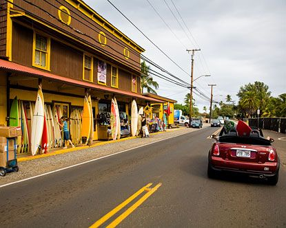 My favorite town in Hawaii- haleiwa also known as North Shore