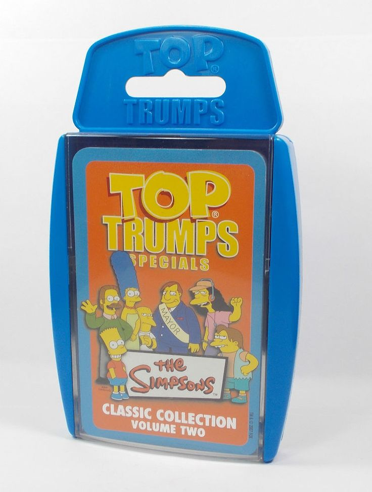 Top Trumps - The Simpsons - Volume 2 - Complete Set (1)