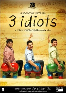 3 idiots izle Film Özeti: 3 arkadaş Hindistan'ın en iyi üniversitesinde okumaktadır. Son sınıf öğrencileri olan bu 3 arkadaş çok salak zannedilmektedir. http://www.hiperfullfilmizle.com/full/3-idiots-izle/
