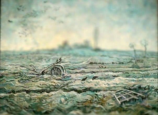 Полотна Ван Гога, снятые на фотокамеру с эффектом tilt ...