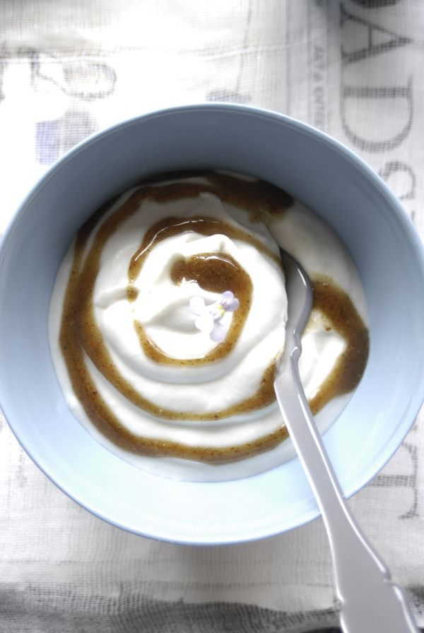 Young Thai Coconut-Based Yogurt. Want to win the olive oil used in this recipe? Check out https://www.facebook.com/sallyjoseph.nutritionandwellbeing/app_522008621164365