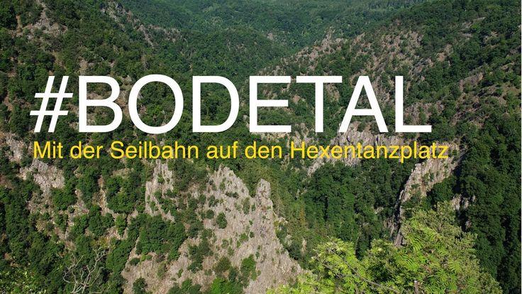 Hexentanzplatz Thale - Mit der Seilbahn über der Bode