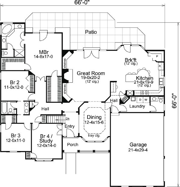 166 best images about house plans on pinterest | house plans, 3