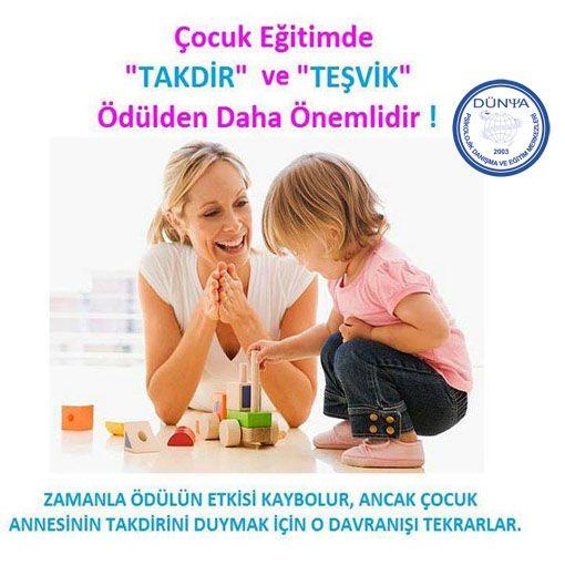 #çocuk #eğitim #aile #anne #takdir #teşvik #ödül #davranış #özeleğitim…