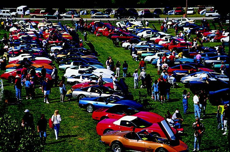 Mid America hosts an annual Corvette Funfest