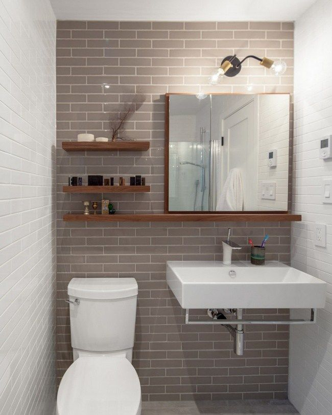 10 υπέροχα σχεδιαστικά κόλπα για μικρά μπάνια | CASAS IDEAS