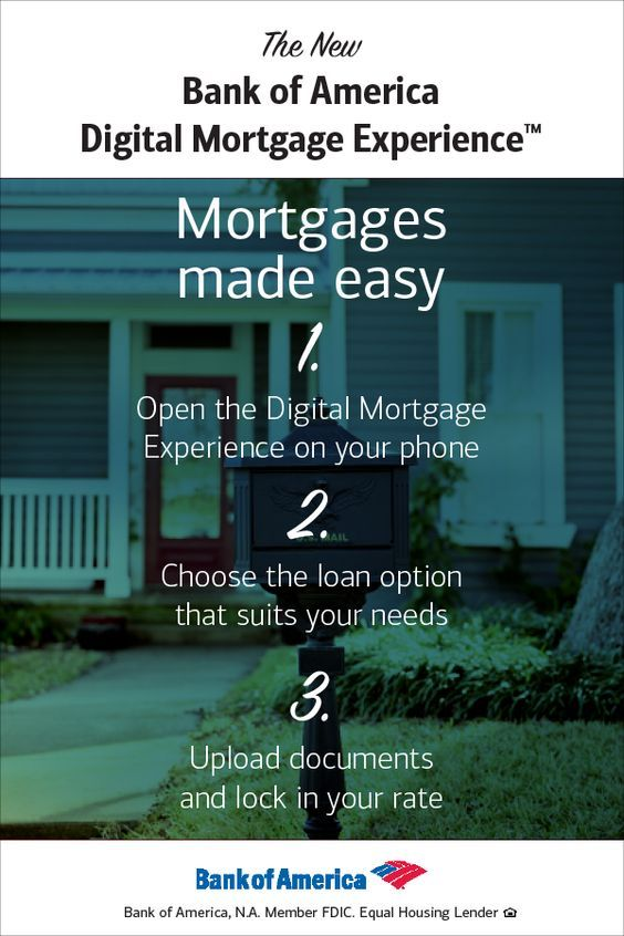 With The New Bank Of America Digital Mortgage Experience You Don