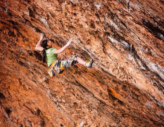 Best Freeclimbing Images On Pinterest Bouldering Rock - Two climbers scale 3000ft hardest route world