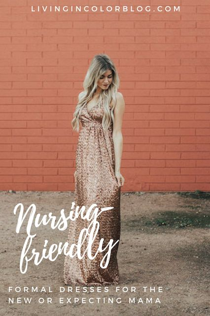 Guide to Formal Dresses for the Nursing or Pregnant Mom || Formal Wear for Breastfeeding | Formal Wear for Pregnancy || Non-maternity formal wear || photo shoot dress || sequin evening gown || affordable evening wear