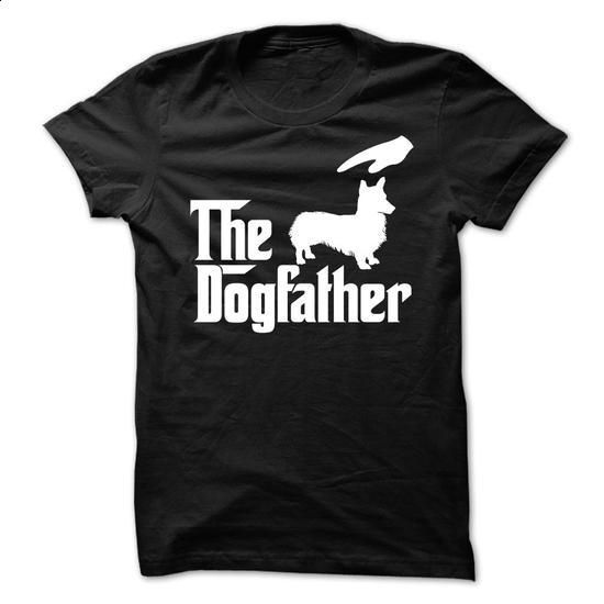 The DogFather Welsh Corgi - #shirtless #mens zip up hoodies. BUY NOW => https://www.sunfrog.com/Pets/The-DogFather-Welsh-Corgi.html?60505