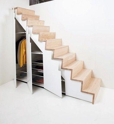 stairs + closet = heaven