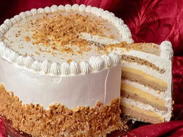 Duplán Milka csokis torta.