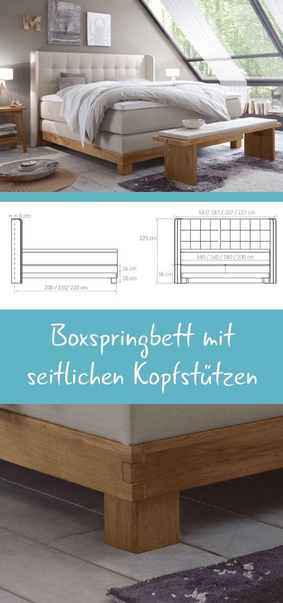 204 best Boxspringbetten images on Pinterest | Bedroom ideas, Grey ...