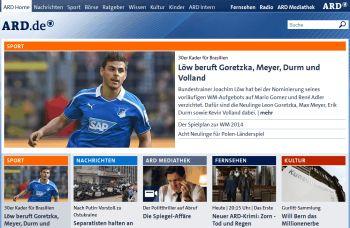 ARD - Aktuelle Nachrichten: Tagesschau, Sportschau, Börse, ARD Mediathek, ARD Live - ARD.de