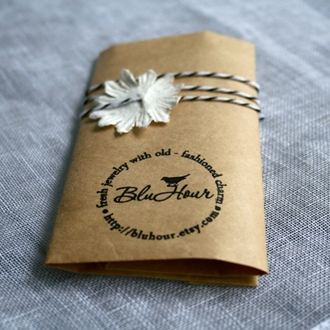 Etsy packaging ideas and inspiration. I really love this stamp.