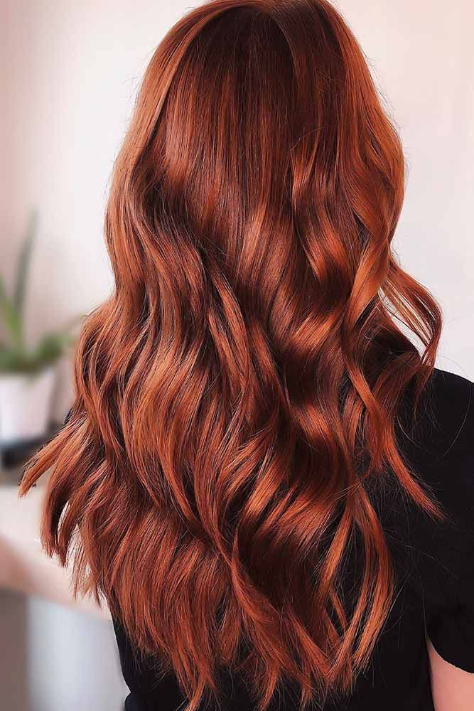 55 Red Hair Colors For Various Skin Tones Lovehairstyles Com Red Orange Hair Hair Color Orange Hair Color Trends