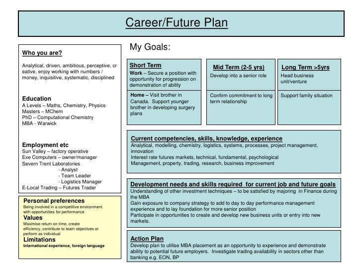 developing a plan of research | Career Development Plan Example
