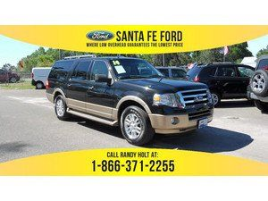 2014 Black Ford Expedition EL XLT 35950R