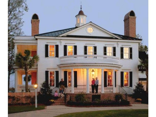 home idea for the far off future.  Neoclassical plantation style...really dahling.