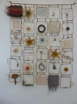 Wire Quilt by Mia Hamilton
