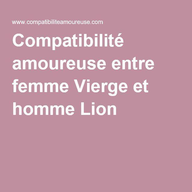 Compatibilité amoureuse entre femme Vierge et homme Lion