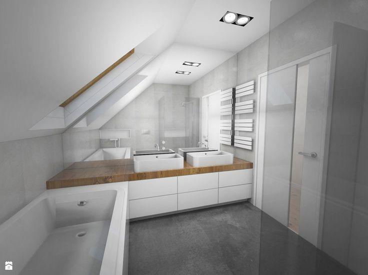 Łazienka styl Minimalistyczny - zdjęcie od MOJO pracownia projektowa - Łazienka - Styl Minimalistyczny - MOJO pracownia projektowa