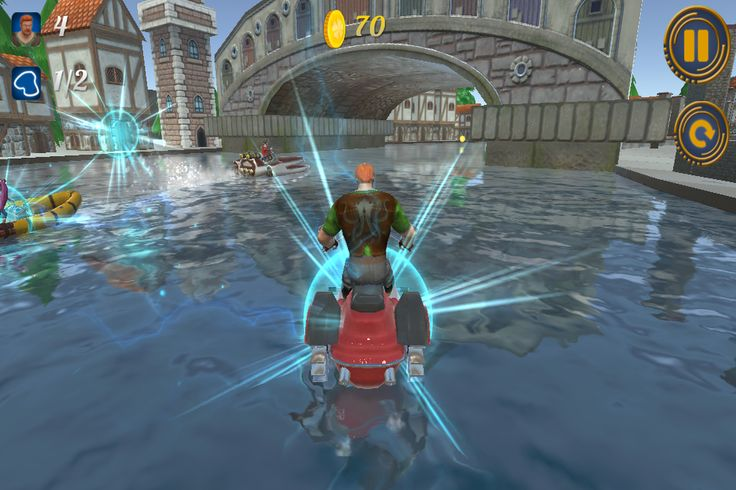 All the fans of racing genre and stunning graphics are invited to enjoy Moto Boat Chase 3D – a captivating race through the channels of a cozy town on boats of all sorts, from primitive to the most imposing. http://www.youtube.com/watch?v=NHWqS1lcSI8