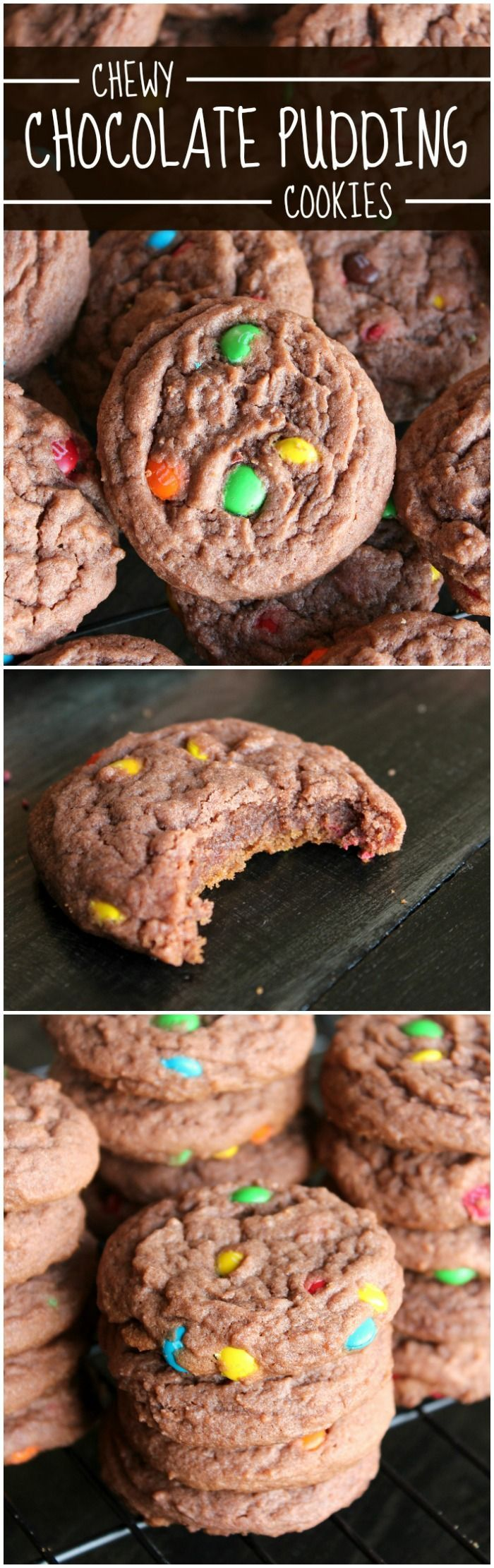 These Chewy Chocolate Pudding Cookies may just be the softest, chewiest, most delicious cookies ever! They will melt in your mouth!