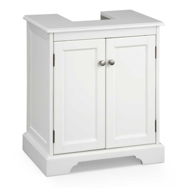 Weatherby Bathroom Pedestal Sink Storage Cabinet Awesome ...