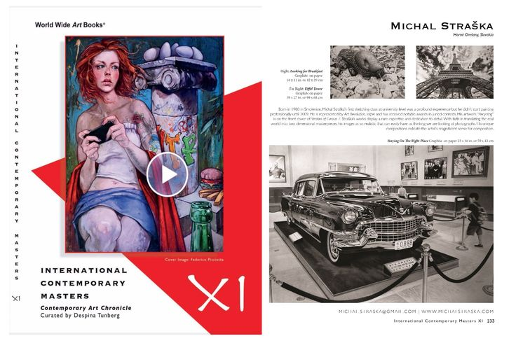 """Promotion in art Publication """"International Contemporary Masters Volume 11"""". You can see online version and also buy this publication on http://wwab.us/portfolio/icm-xi/"""