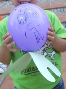 Manualidades: pulpo. Cumpleaños submarino. Submarine Birthday Party - Inma Torrijos