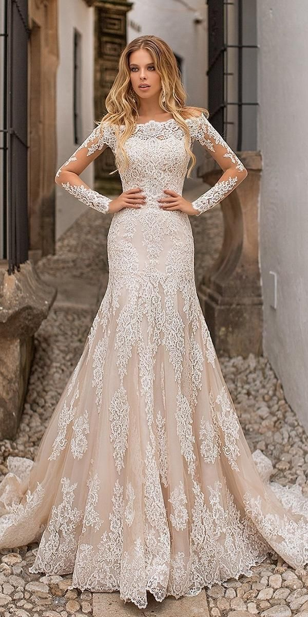 36 Lace Wedding Dresses That You Will Absolutely Love Wedding Dress Necklines Blake Lively Wedding Dress Lace Mermaid Wedding Dress,Wedding Dress Chicago Affordable