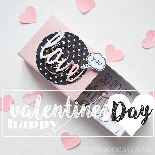 mama nina: be my valentine - kleine Schachteln mit großer Botschaft (zum Nachbasteln)
