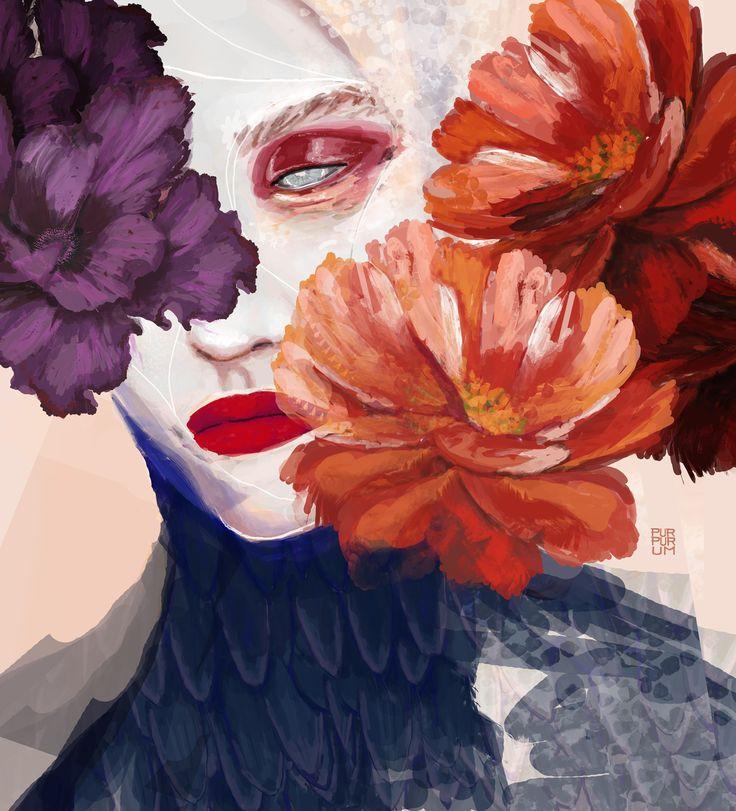 Dead Flowers for Calendar 2017 http://purpurum.com