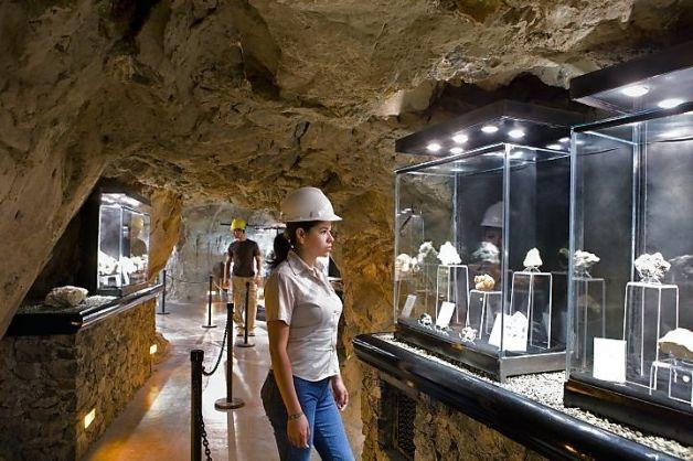Turismo y Minería. Mina el Edén, Zacatecas, México Foto: Ricardo Espinosa, Patronato de Turismo de México