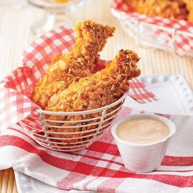 Pilons de poulet croustillants sans friture - Recettes - Cuisine et nutrition - Pratico Pratique