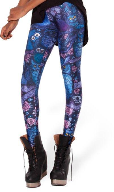 Дешевое Восток вязание X 053 новое поступление полночь сова леггинсы мода цифровая печать брюки бесплатная доставка, Купить Качество Леггинсы непосредственно из китайских фирмах-поставщиках:            &