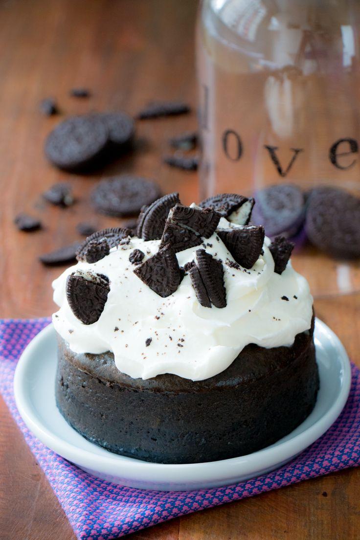 Mini Cheesecake de Oreo com Doce de Leite   Vídeos e Receitas de Sobremesas